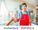 Ice Cream Seller Giving Ice...