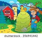 farmer topic image 1   eps10... | Shutterstock .eps vector #356941442