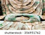 great buddha of hyogo   kobe ... | Shutterstock . vector #356951762