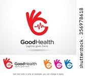 good health logo template... | Shutterstock .eps vector #356978618