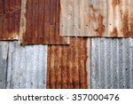 Rusted Corrugated Zinc Sheets...