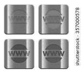 set of domain buttons vector in ...   Shutterstock .eps vector #357000578