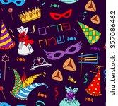 seamless pattern background for ... | Shutterstock .eps vector #357086462