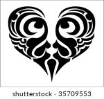 heart | Shutterstock .eps vector #35709553