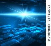 futuristic digital background... | Shutterstock . vector #357110726