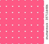 heart love seamless pattern... | Shutterstock .eps vector #357116486