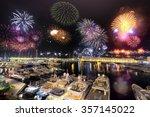 Principality Of Monaco Fireworks
