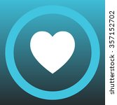heart   vector icon | Shutterstock .eps vector #357152702