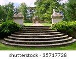 A Historic Garden In Buscot...
