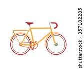 retro bicycle  transportation... | Shutterstock .eps vector #357182285