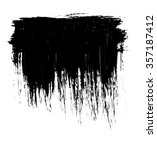 grunge distressed paintbrush... | Shutterstock . vector #357187412