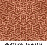 seamless burgundy red and beige ... | Shutterstock .eps vector #357233942