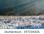 winter scene and landscape ... | Shutterstock . vector #357234326