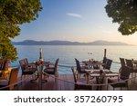 Restaurant On The Beach With A...