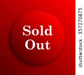 sold out icon. internet button... | Shutterstock . vector #357270875