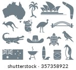 monochrome traditional symbols... | Shutterstock .eps vector #357358922
