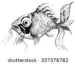 illustration fish aquatic sea...   Shutterstock . vector #357378782