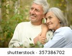 loving mature couple  in a... | Shutterstock . vector #357386702