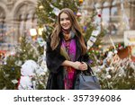 young beautiful woman in... | Shutterstock . vector #357396086
