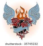 sacred heart | Shutterstock .eps vector #35745232