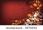 vector grunge background with... | Shutterstock .eps vector #3574542