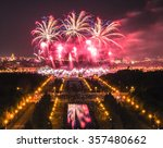 Moscow Firework Festival In Th...