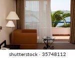 hotel room | Shutterstock . vector #35748112