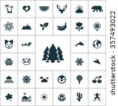nature icons universal set for... | Shutterstock .eps vector #357493022