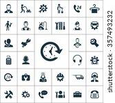 service icons vector set | Shutterstock .eps vector #357493232