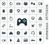 game icons vector set | Shutterstock .eps vector #357516146