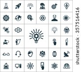 simple innovation icons set....