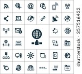 internet icons vector set