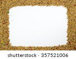 budgerigar food frame | Shutterstock . vector #357521006