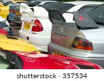 bumpers and spoilers of... | Shutterstock . vector #357534