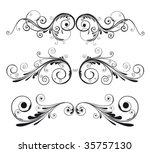 design elements   Shutterstock .eps vector #35757130