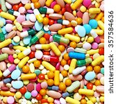 A Lot Of Colorful Medication...