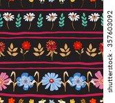 vector illustration of floral... | Shutterstock .eps vector #357603092