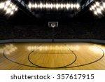 basketball court. | Shutterstock . vector #357617915