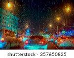 Inside The Car   Night Rain An...