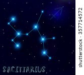 the constellation of... | Shutterstock .eps vector #357714572