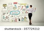 successful business strategy... | Shutterstock . vector #357729212