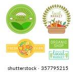vector logo design template...   Shutterstock .eps vector #357795215