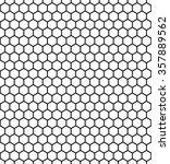 hexagon vector pattern... | Shutterstock .eps vector #357889562