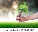 teacher day concept  student... | Shutterstock . vector #357893786