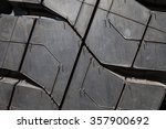background of the wheel tread... | Shutterstock . vector #357900692