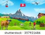 Alps Matterhorn Mountain...