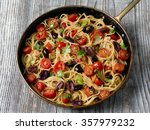 close up of rustic italian... | Shutterstock . vector #357979232