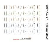 bracket.brace. curly brackets... | Shutterstock .eps vector #357992306