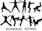 gymnastics | Shutterstock .eps vector #3579932