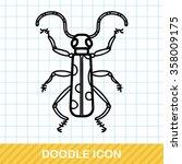 bug doodle | Shutterstock .eps vector #358009175